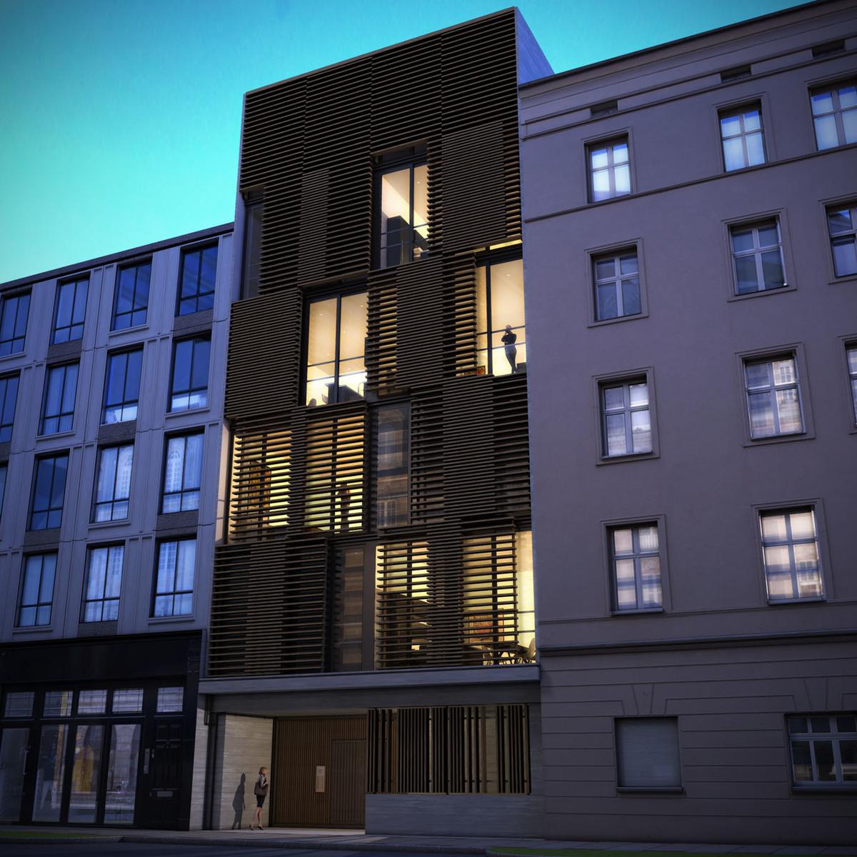 Apartment Block: Mx-Visualisation London Based 3D Computer