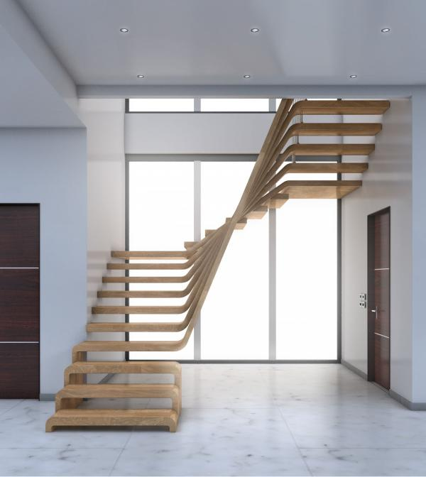 MX-Visualisation - Private House-Staircase